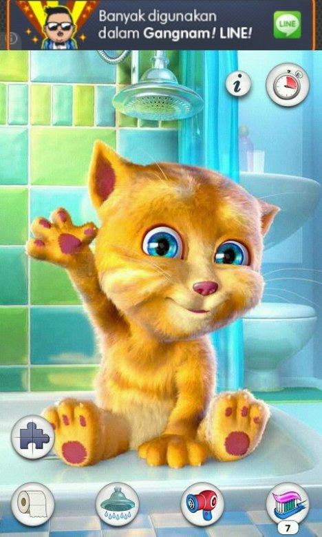 Talking cat toby - my virtual pet that repeats