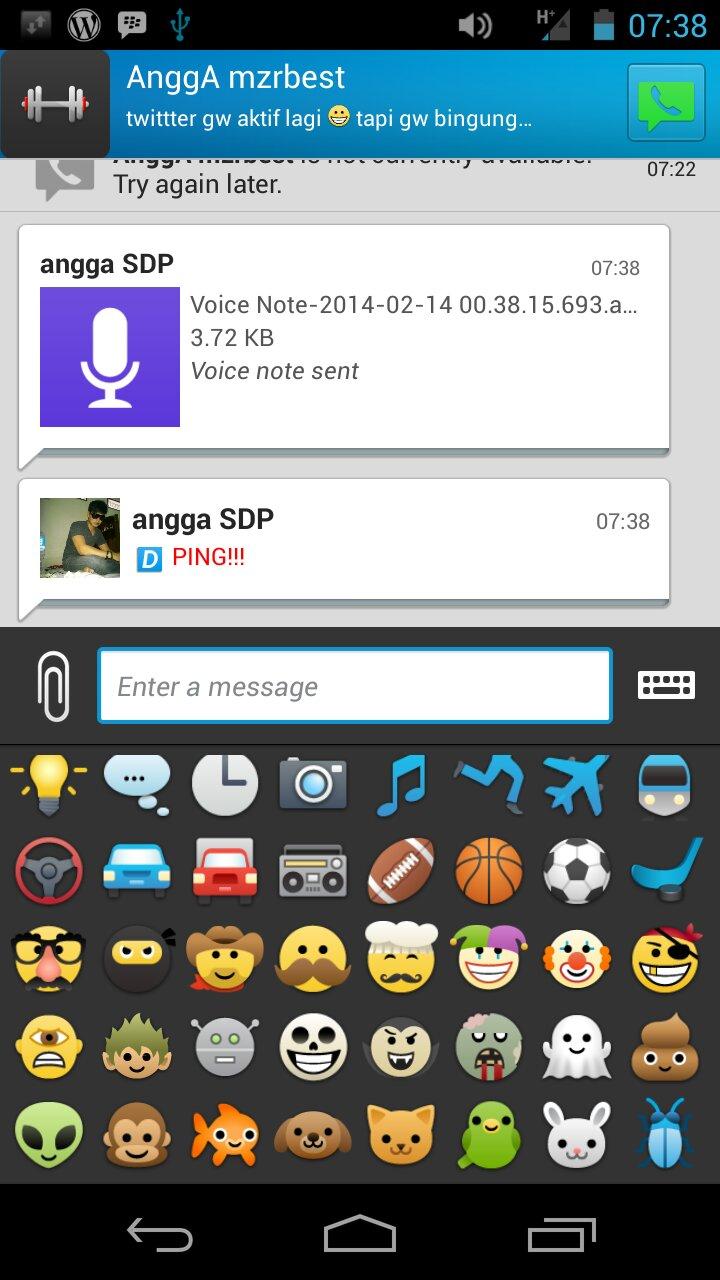 Update BBM 20 Android Membawa 6 Fitur Baru SDP